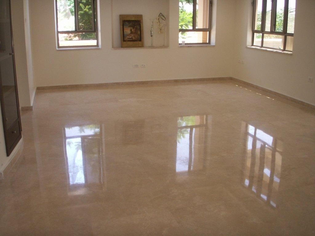 Picture of polished marble floor